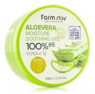 Гель с экстрактом алое вера FARMSTAY Aloe vera moisture soothing gel 300 мл: фото