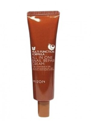 Крем для лица с муцином улитки MIZON All in One Snail Repair Cream 35 мл: фото