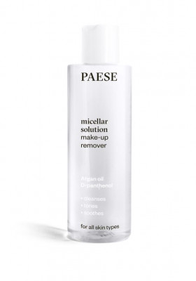 Мицелярная вода PAESE MICELLAR SOLUTION MAKE-UP REMOVER 210мл: фото
