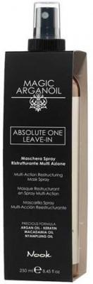 Маска-спрей концентрированная восстанавливающая NOOK Магия Арганы Absolute One Leave-In 250мл: фото