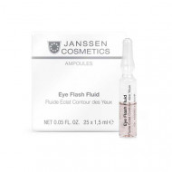 Сыворотка восстанавливающая для контура глаз Janssen Cosmetics Eye Flash Fluid 7*1,5мл: фото