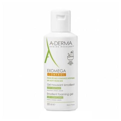Гель смягчающий пенящийся A-Derma Exomega Control 200 мл: фото