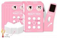 Набор масок + бандаж для подтяжки контура лица Rubelli Beauty Face 20мл*7: фото