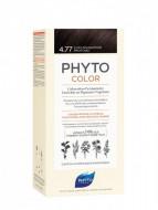 Краска для волос PHYTOSOLBA PHYTO COLOR 4.77 Насыщенный глубокий каштан: фото