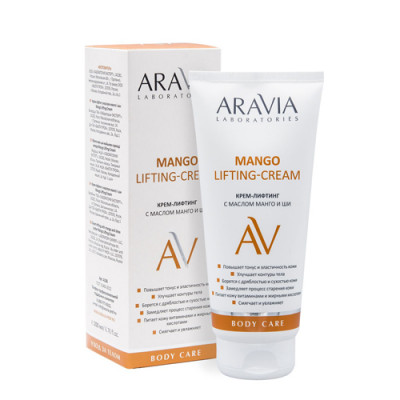 Крем-лифтинг с маслом манго и ши Aravia professional Mango Lifting-Cream, 200 мл: фото