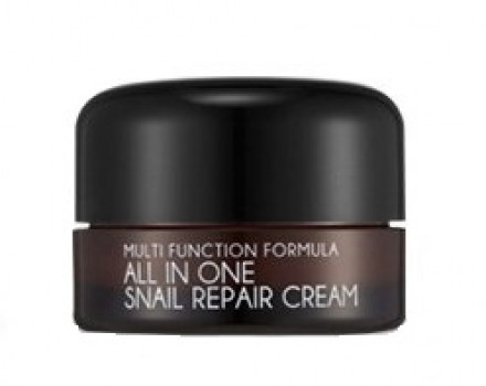 Крем для лица с муцином улитки MIZON All in One Snail Repair Cream 15 мл: фото