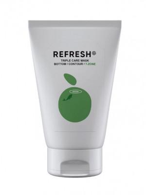 Маска-детокс для Т-зоны лица REFRESH Triple Care Mask T-Zone 50 мл: фото