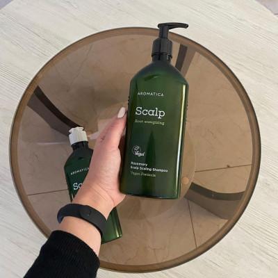 Шампунь против выпадения волос Rosemary Active V Anti-Hair Loss Shampoo 400мл: фото