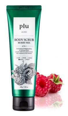 Скраб для тела Ягодный микс PLU Body Scrub Berry Mix 200 г: фото