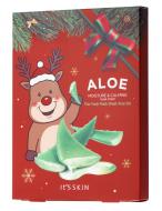 Новогодний набор тканевых масок с алоэ It's Skin The Fresh Mask Sheet Aloe GLOBAL NEW YEAR 18г*5 шт