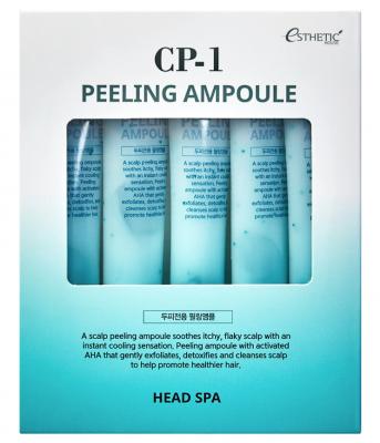 Пилинг-сыворотка для кожи головы ГЛУБОКОЕ ОЧИЩЕНИЕ ESTHETIC HOUSE CP-1 Peeling Ampoule 20мл*5шт: фото