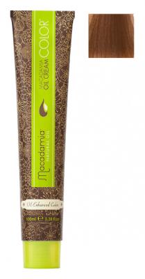 Краска для волос Macadamia Oil Cream Color 8.77 ЭКСТРА СВЕТЛЫЙ ШОКОЛАДНЫЙ БЛОНДИН 100мл: фото