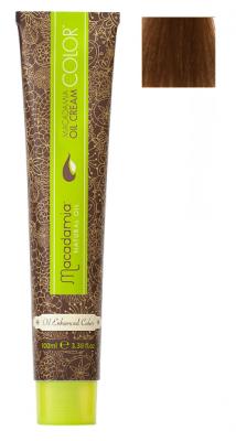 Краска для волос Macadamia Oil Cream Color 8.35 СВЕТЛЫЙ ЗОЛОТИСТЫЙ ШОКОЛАДНЫЙ БЛОНДИН 100мл: фото