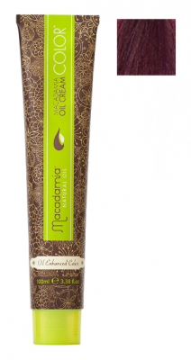 Краска для волос Macadamia Oil Cream Color 6.2 ТЕМНЫЙ РАДУЖНЫЙ БЛОНДИН 100мл: фото