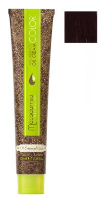 Краска для волос Macadamia Oil Cream Color 6.55 ЯРКИЙ КРАСНОЕ ДЕРЕВО ТЕМНО ТЕМНЫЙ БЛОНДИН 100мл: фото