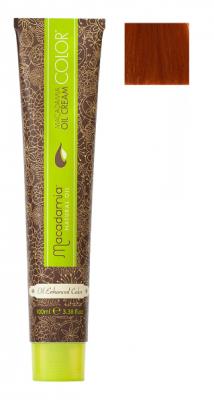 Краска для волос Macadamia Oil Cream Color 7.444 ЭКСТРА ЯРКИЙ МЕДНЫЙ СРЕДНИЙ БЛОНДИН 100мл: фото