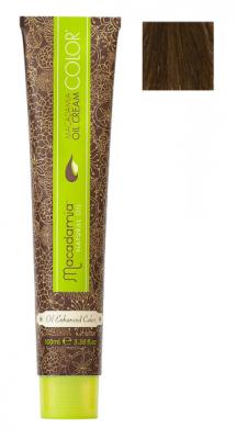 Краска для волос Macadamia Oil Cream Color 7.32 СРЕДНИЙ БЕЖЕВЫЙ БЛОНДИН 100: фото