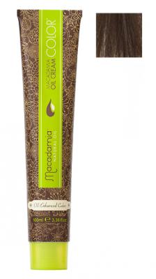 Краска для волос Macadamia Oil Cream Color 6.1 ТЕМНЫЙ ПЕПЕЛЬНЫЙ БЛОНДИН 100мл: фото
