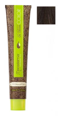 Краска для волос Macadamia Oil Cream Color 5.1 СВЕТЛЫЙ ПЕПЕЛЬНЫЙ КАШТАНОВЫЙ 100мл: фото