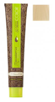 Краска для волос Macadamia Oil Cream Color 10 ПЛАТИНОВЫЙ БЛОНДИН 100мл: фото
