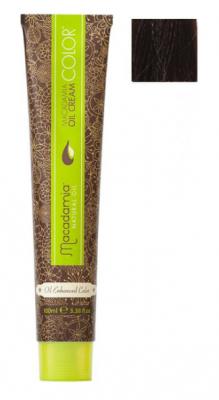 Краска для волос Macadamia Oil Cream Color 5 СВЕТЛЫЙ КАШТАНОВЫЙ 100мл: фото