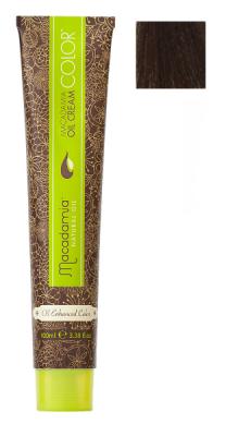 Краска для волос Macadamia Oil Cream Color 4 СРЕДНИЙ КАШТАНОВЫЙ 100мл: фото