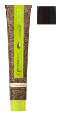 Краска для волос Macadamia Oil Cream Color 3 ТЕМНЫЙ КАШТАНОВЫЙ 100мл: фото